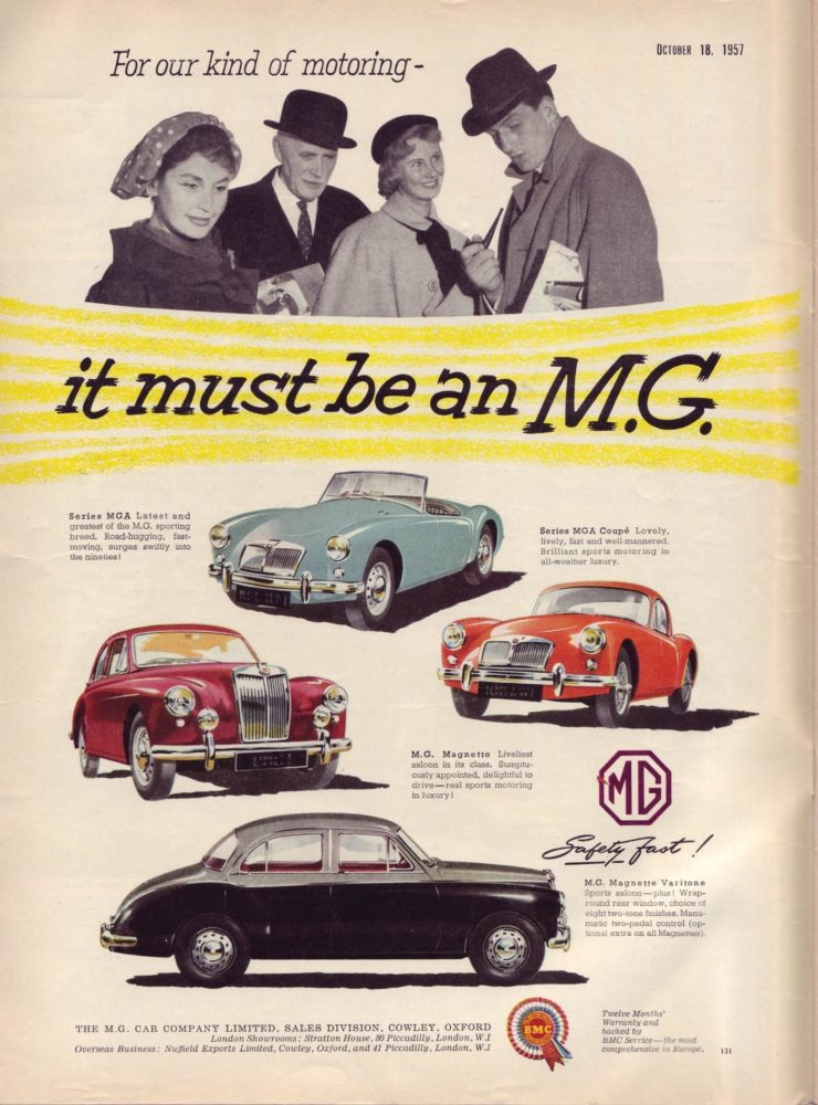 A Brief History of the MGA – Everything You Need To Know