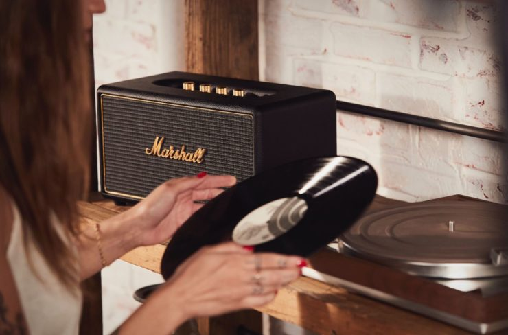 Marshall Stanmore Multi-Room Home Entertainment Speaker Vinyl