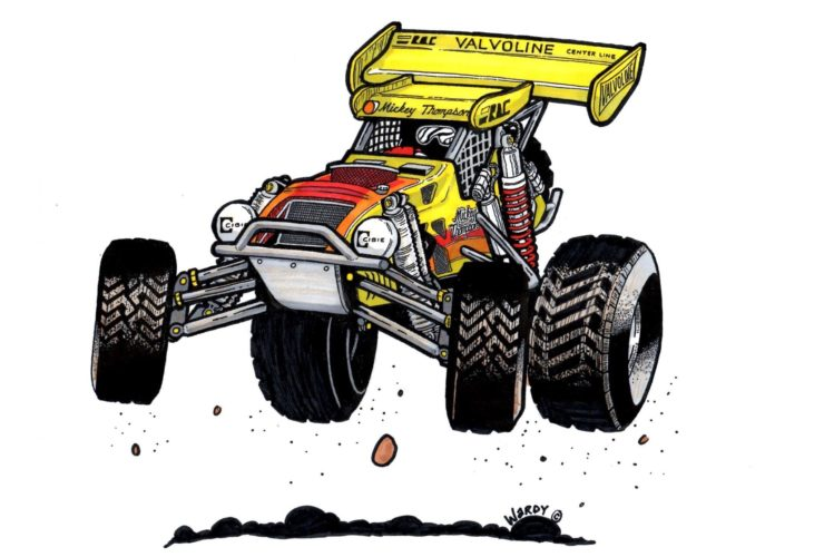For Sale: Mickey Thompson's Original Challenger IV Buggy