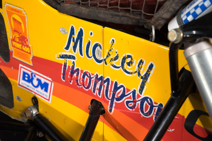 Mickey Thompson Challenger IV Buggy Logo