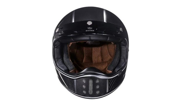 Nexx XG200 Carbon Fibre Motorcycle Helmet Front