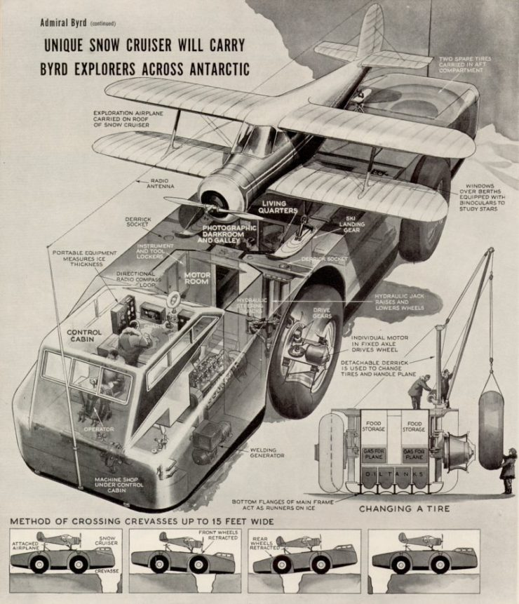The Snow Cruiser Cutaway