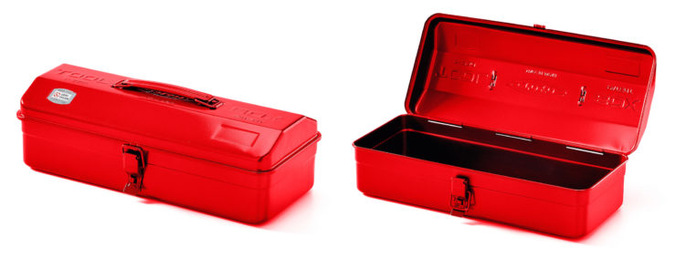 Toyo Camber Top Tool Box Red