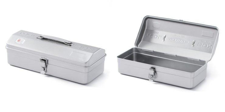 Toyo Camber Top Tool Box Silver