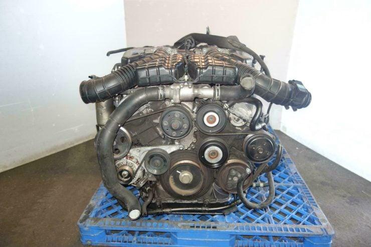 Toyota Century 1GZ-FE V12 Engine Front