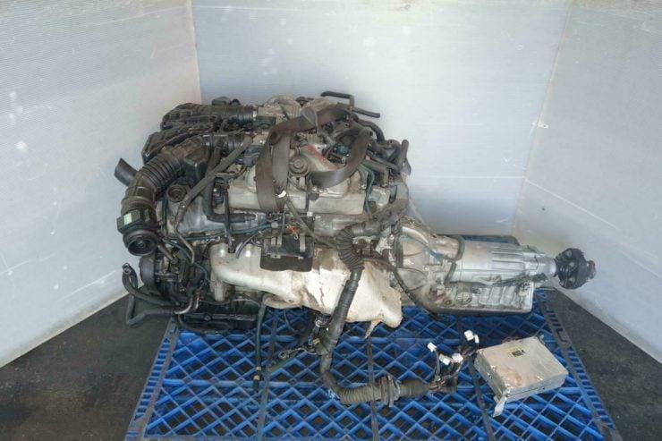 Toyota Century 1GZ-FE V12 Engine Side 2