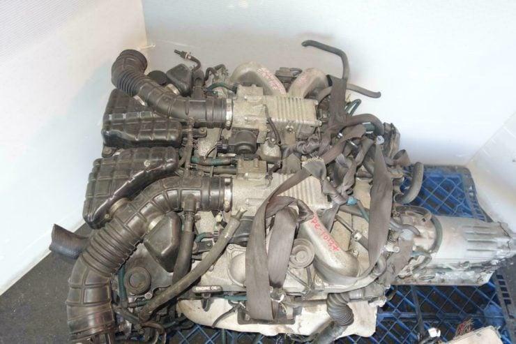 Toyota Century 1GZ-FE V12 Engine Side