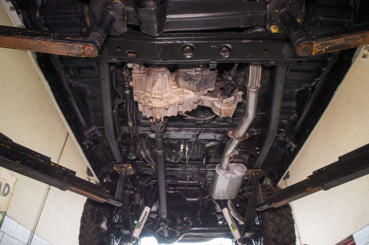 Toyota Land Cruiser J60 Chassis