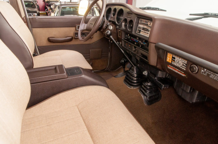Toyota Land Cruiser J60 Front Seats
