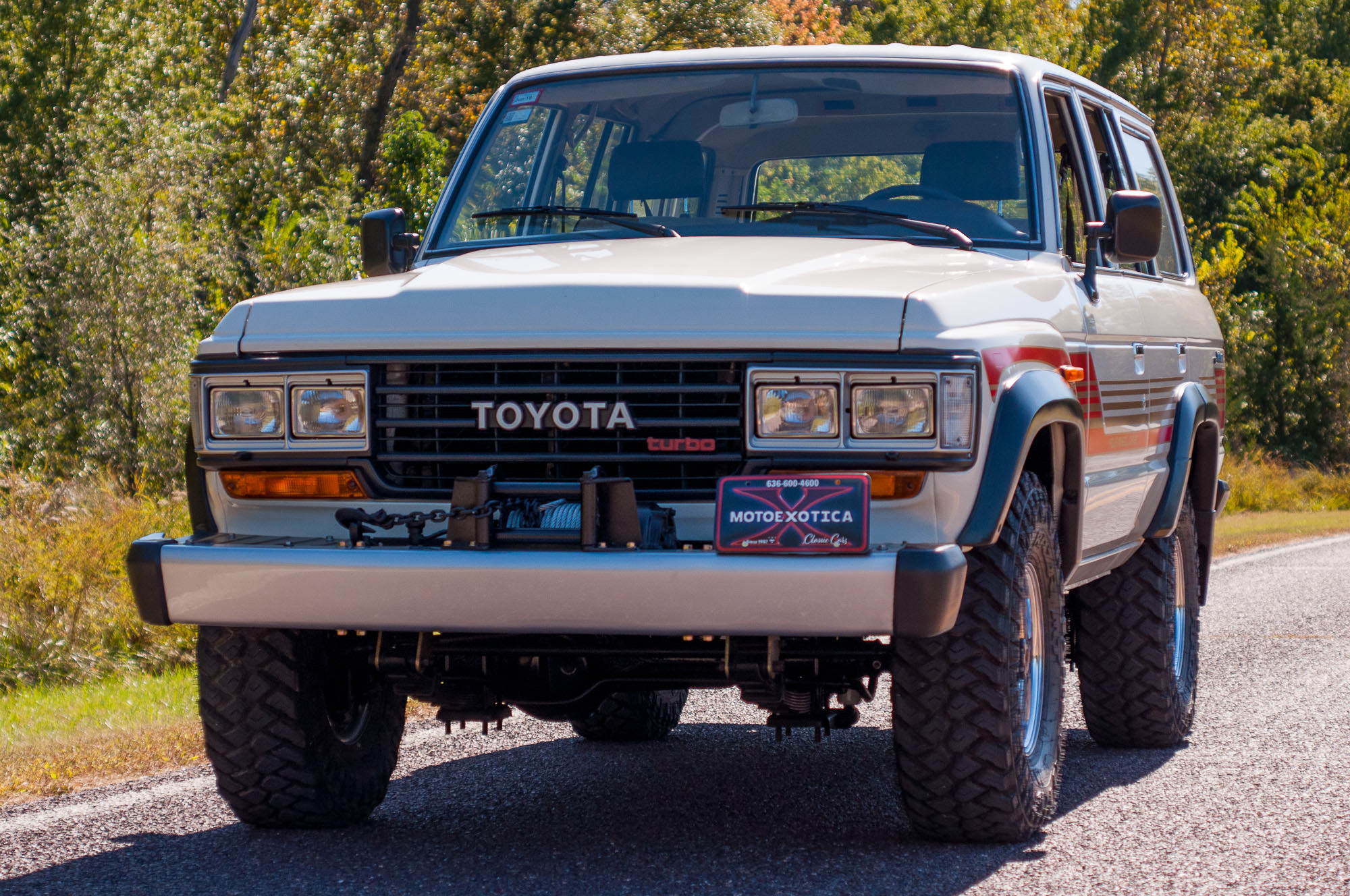 A Time Capsule Condition 1988 Toyota Land Cruiser J60 Gx Hj61 Turbo