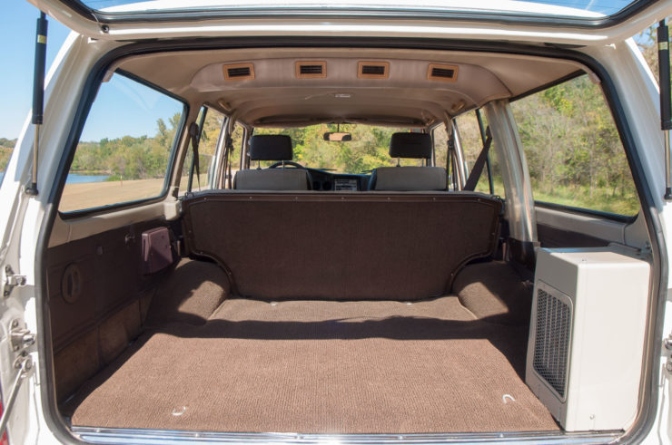 Toyota Land Cruiser J60 Rear Cargo Bay
