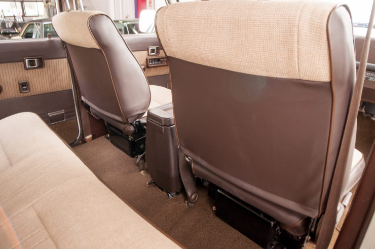 Toyota Land Cruiser J60 Rear Seat
