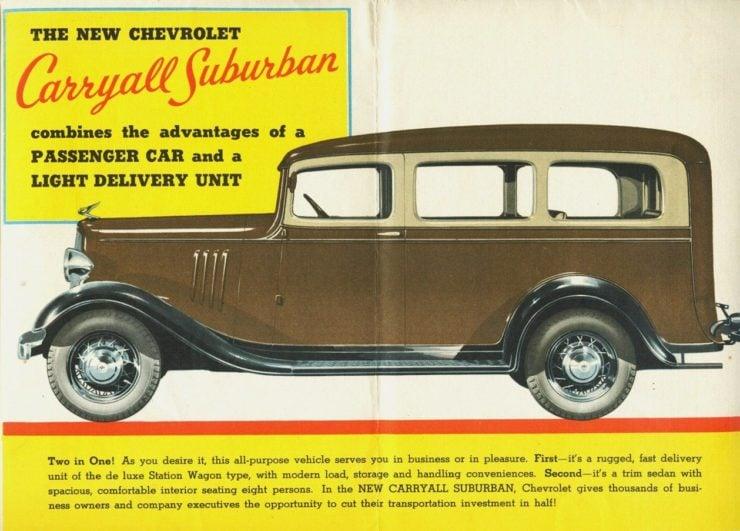 Chevrolet Suburban Carryall