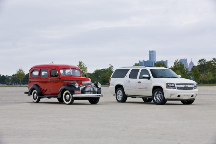 Chevrolet Suburban anniversary