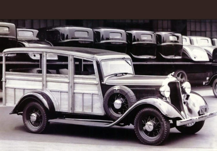 Chevrolet wood body