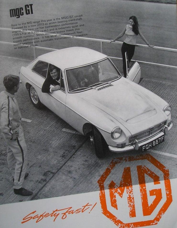 MGC sports car