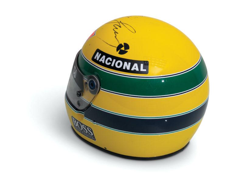 Ayrton Senna McLaren Honda Helmet 3