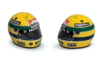 Ayrton Senna McLaren Honda Helmet Main