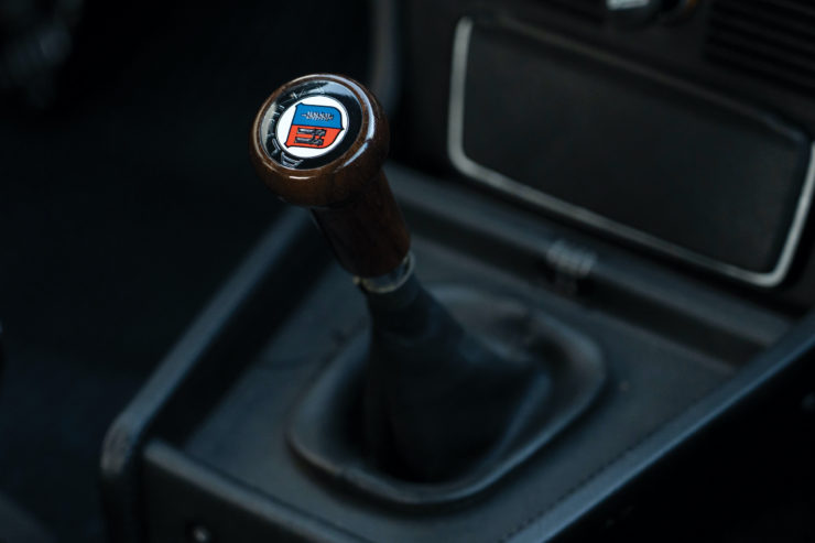 BMW Alpina B7 S Turbo Gear Knob
