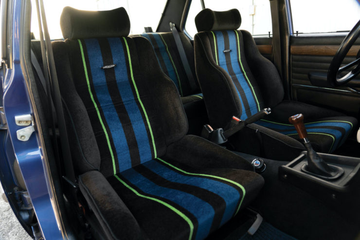 BMW Alpina B7 S Turbo Seats