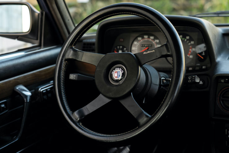 BMW Alpina Steering Wheel