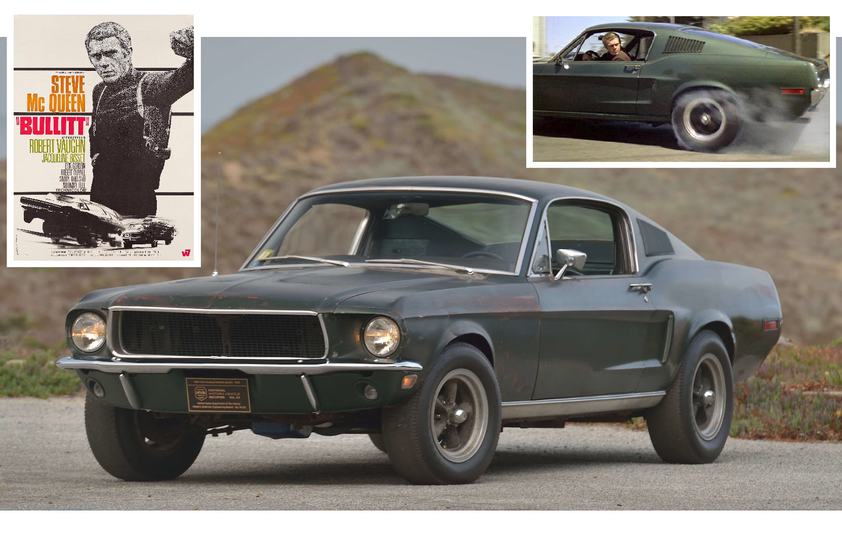 It's Time To Sell Your House - The Original Steve McQueen Bullitt Mustang Is For Sale