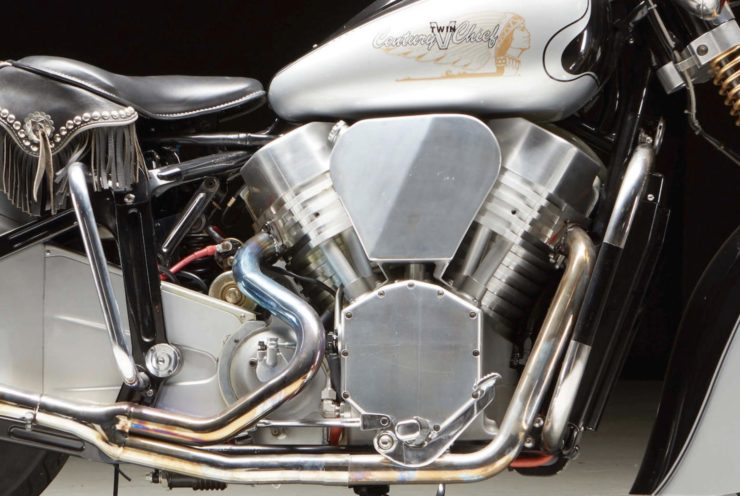 Century V-Twin Chief Engine
