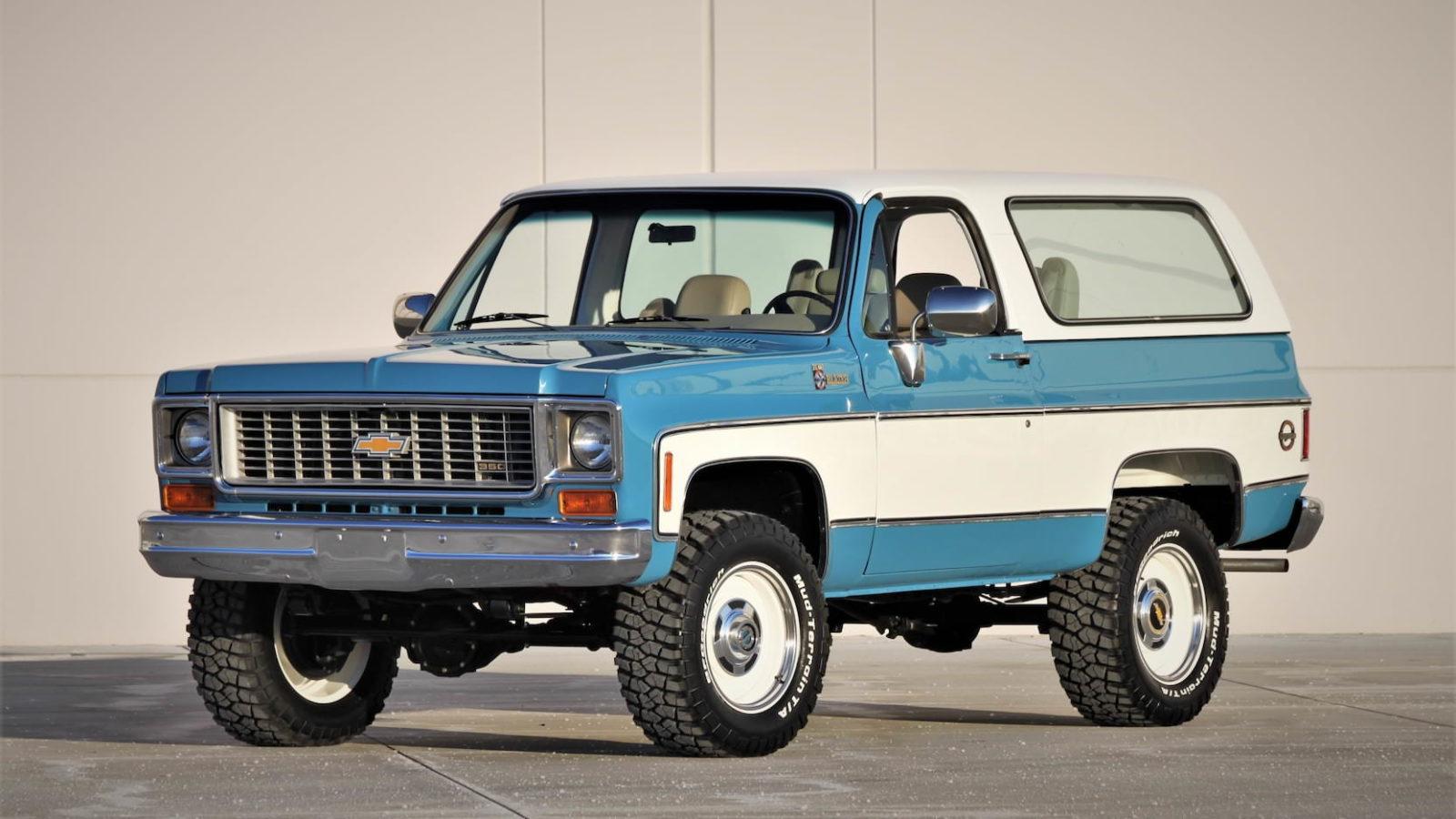 A Restomod Chevrolet K5 Blazer Convertible - The Perfect ...