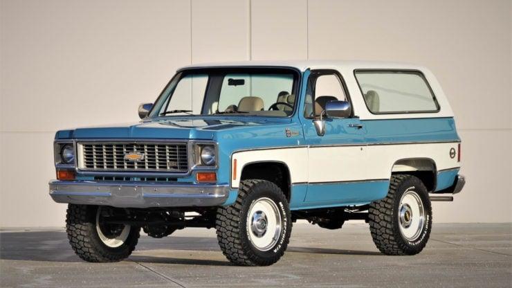 Chevrolet K5 Blazer Convertible 1