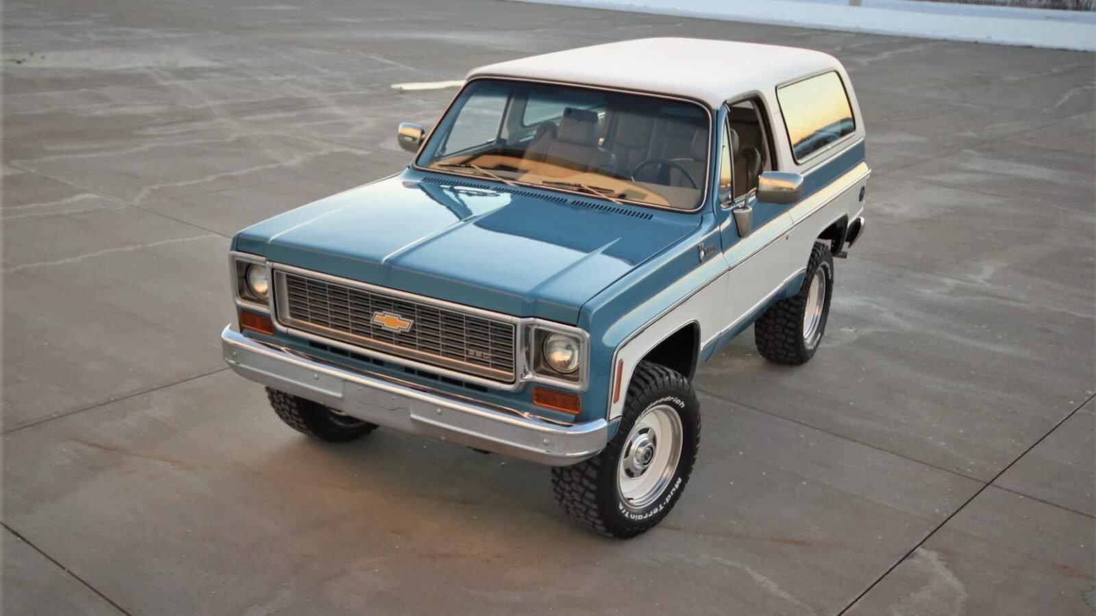Chevrolet K5 Blazer Convertible Overhead