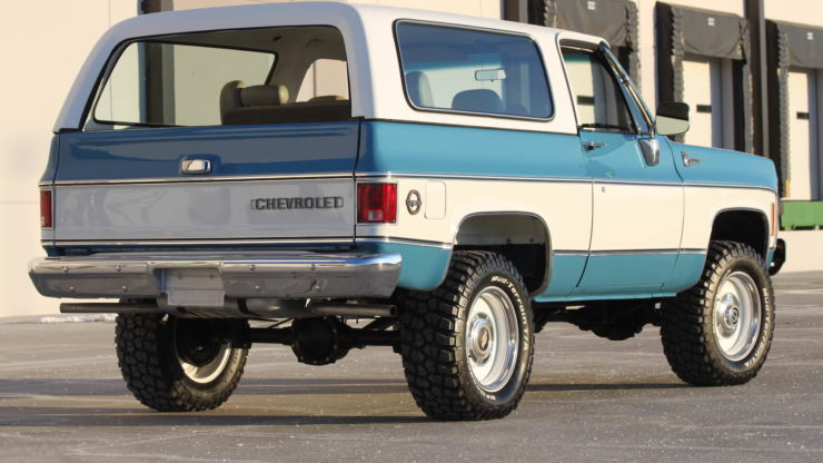 Chevrolet K5 Blazer Convertible Rear