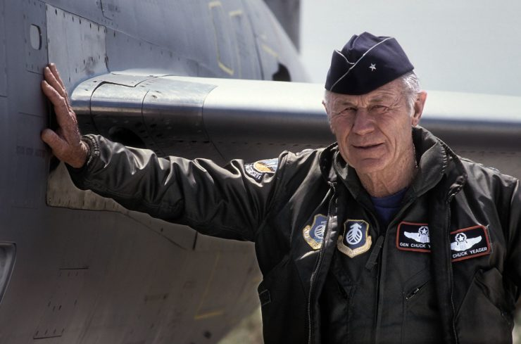 Chuck Yeager Retired