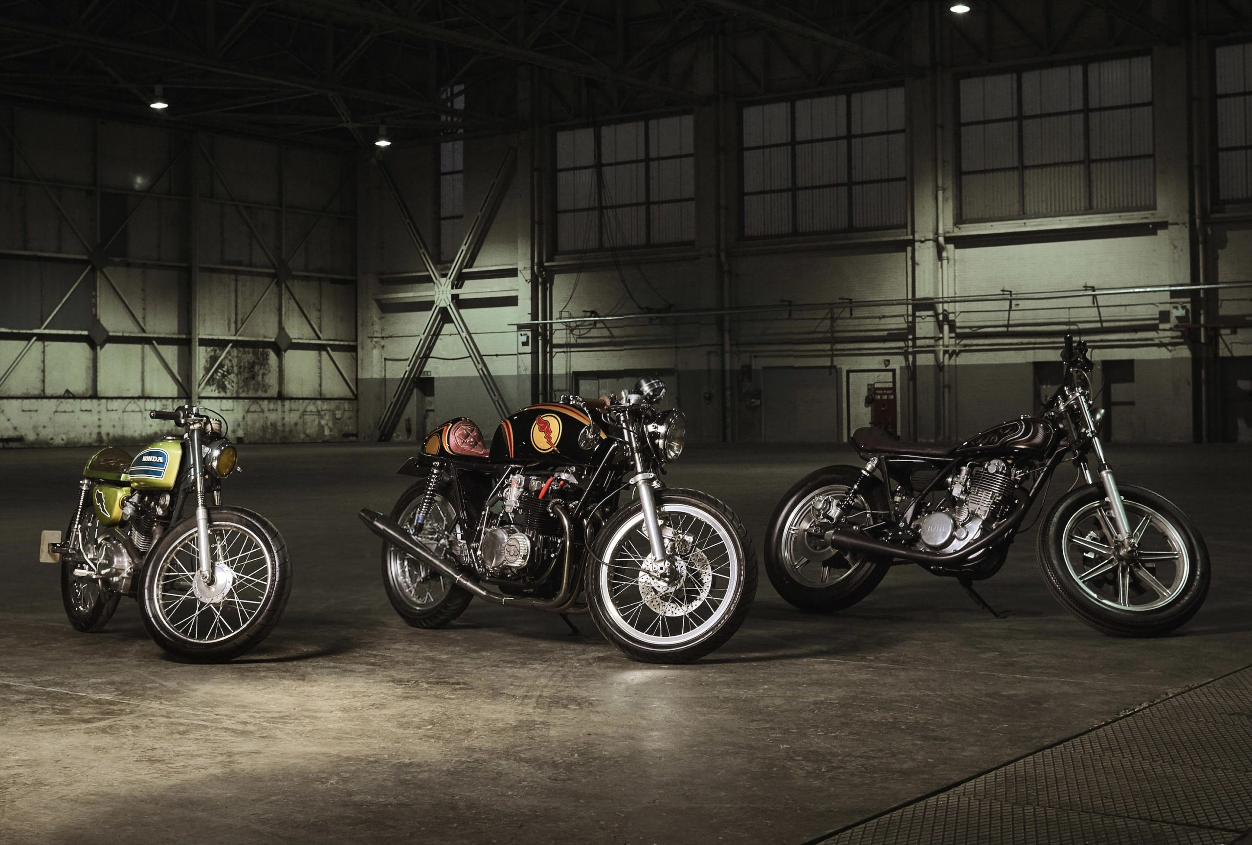 Three Affordable Custom Motorcycles Built By British Street Artist D Face