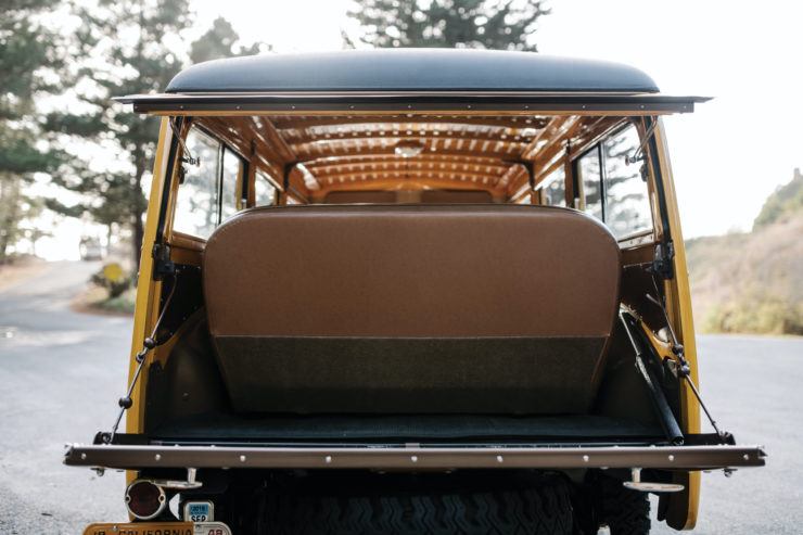 Ford Marmon-Herrington Super Deluxe 4x4 Tail Gate