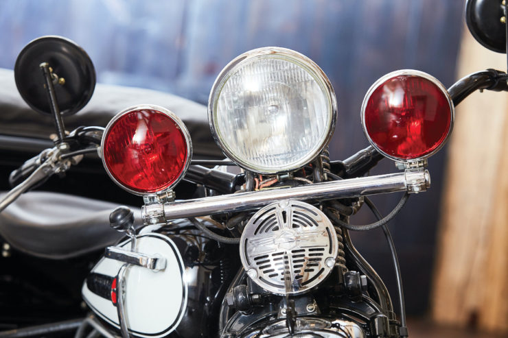 Harley-Davidson Servi-Car Lights