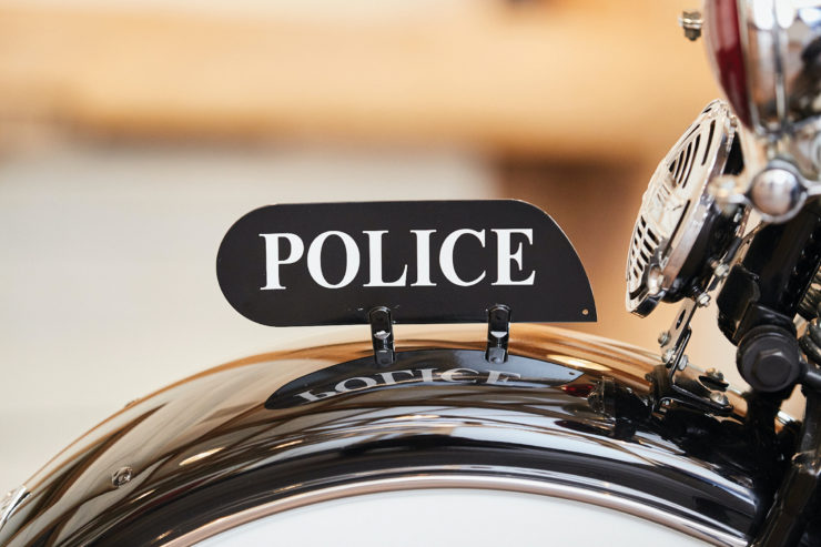 Harley-Davidson Servi-Car Police