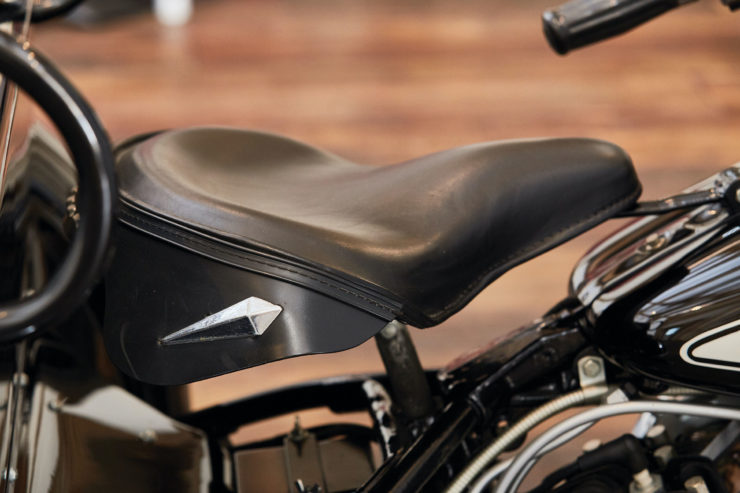 Harley-Davidson Servi-Car Seat