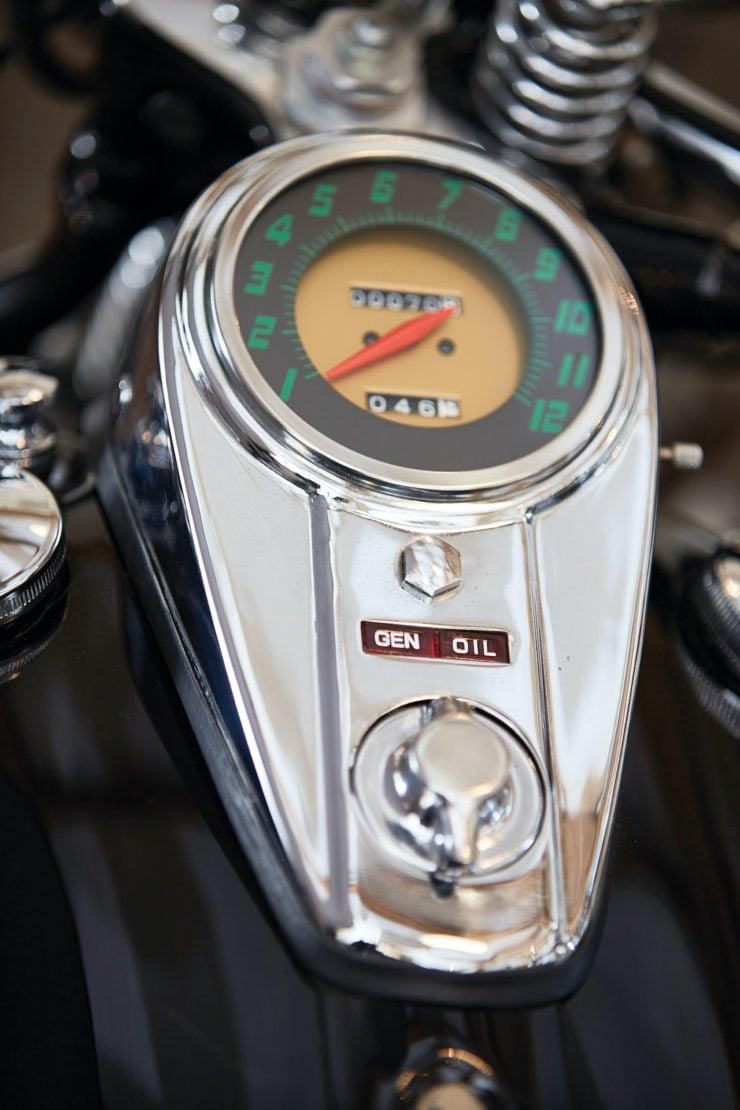 Harley-Davidson Servi-Car Speedo