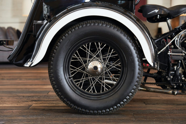Harley-Davidson Servi-Car Wheel