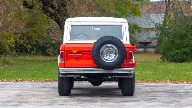 Holman Moody Ford Bronco Prototype - The Bronco Hunter Back