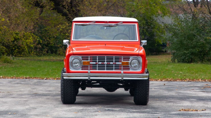 Holman Moody Ford Bronco Prototype - The Bronco Hunter Grille