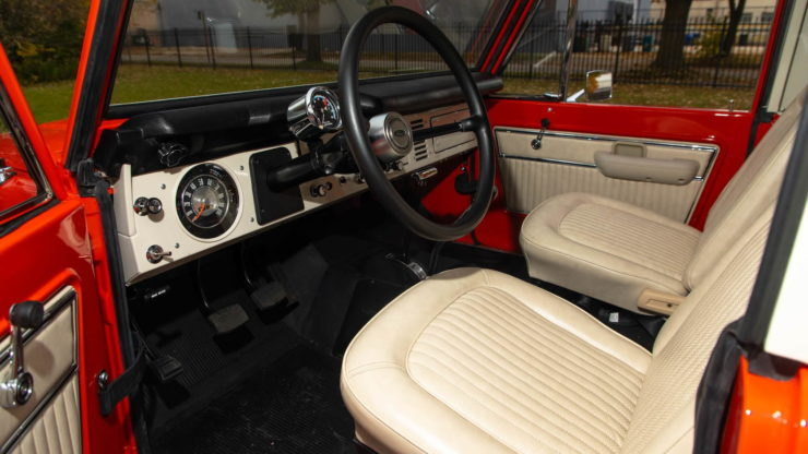 Holman Moody Ford Bronco Prototype - The Bronco Hunter Interior