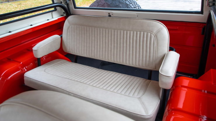 Holman Moody Ford Bronco Prototype - The Bronco Hunter Rear Seat