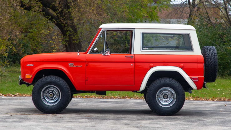 Holman Moody Ford Bronco Prototype - The Bronco Hunter Side