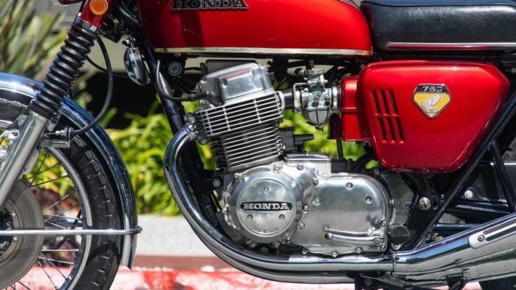 Honda CB750 Sandcast Engine 2