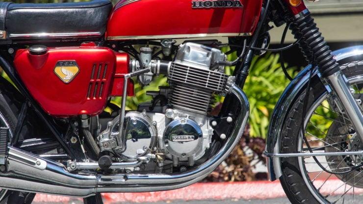 Honda CB750 Sandcast Engine