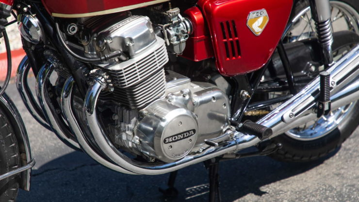 Honda CB750 Sandcast Exhaust