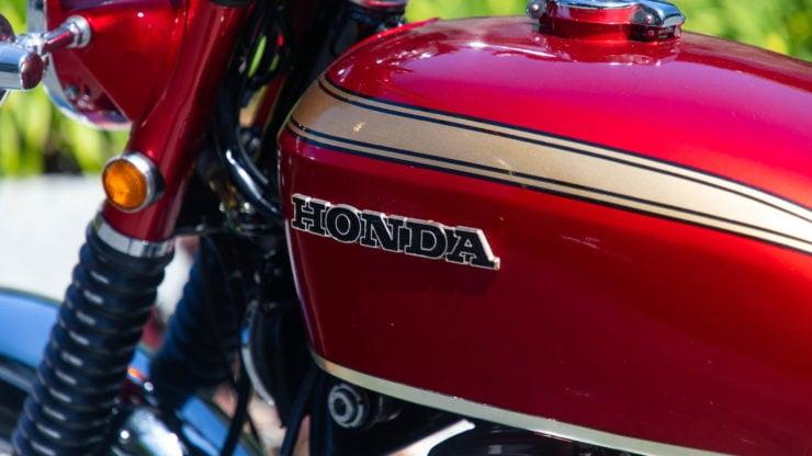Honda CB750 Sandcast Fuel Tank