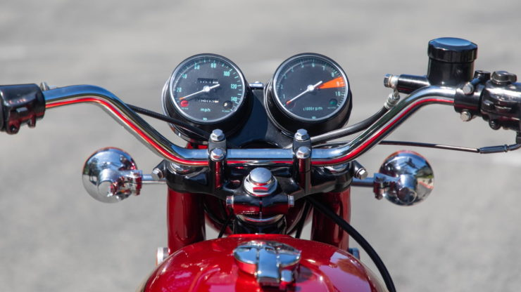 Honda CB750 Sandcast Gauges