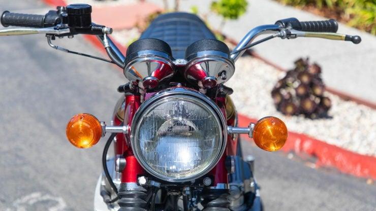 """A Rare 1969 Honda CB750 Sandcast – The World's First """"Superbike"""""""